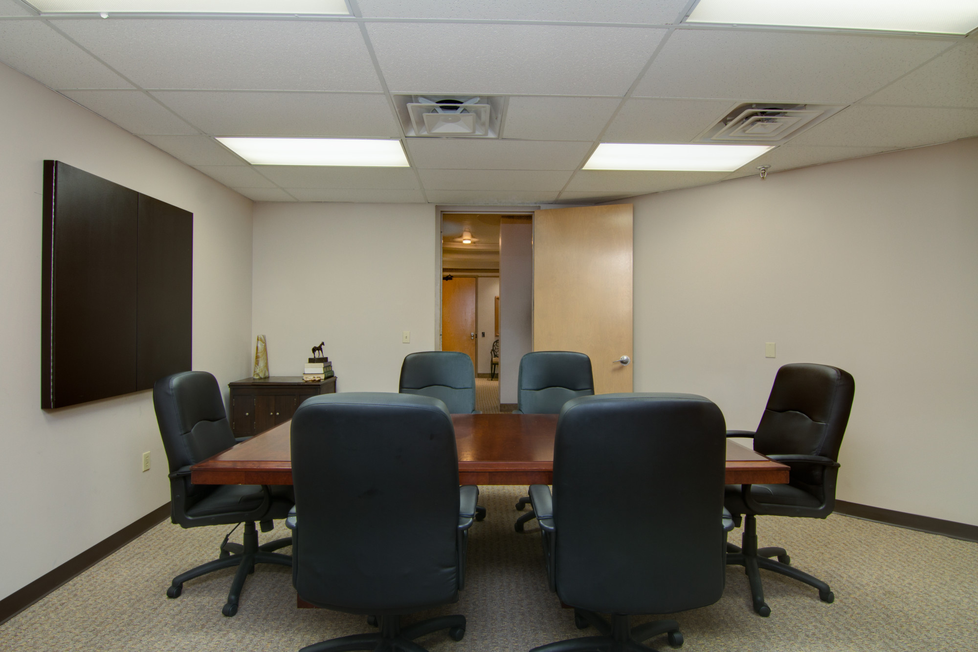 We offer many amenities including high-tech, furnished conference rooms.